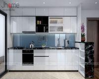 Thiết kế, thi công nội thất phòng bếp chung cư G5 Five Star - Nội thất Jhome