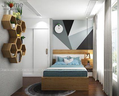 Thiết kế, thi công nội thất phòng ngủ con chung cư Park 9 Park Hill - Nội thất Jhome