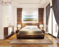 Thiết kế, thi công nội thất phòng ngủ chung cư Ciputra
