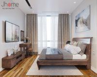 Thiết kế, thi công nội thất phòng ngủ master chung cư Park 9 Park Hill - Nội thất Jhome