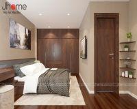 Thiết kế, thi công nội thất phòng ngủ master chung cư G4 Five Star Garden - Nội thất Jhome