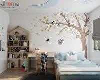 Thiết kế, thi công nội thất phòng ngủ con trai biệt thự Xuân Phương Quốc Hội - Nội thất Jhome
