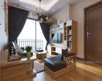 Thiết kế, thi công nội thất phòng khách chung cư Vinhomes Gardenia - Nội thất Jhome
