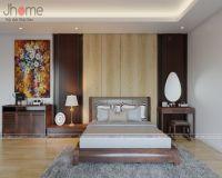 Thiết kế nội thất phòng ngủ master biệt thự ở Quảng Ninh - Nội thất Jhome