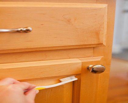5 bước làm sạch tủ bếp đơn giản - Nội thất Jhome