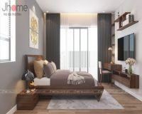 Thiết kế nội thất phòng ngủ master biệt thự Ecopark - Nội thất Jhome