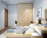 Thiết kế nội thất phòng ngủ chung cư K6 Việt Hưng, Long Biên - Nội thất Jhome