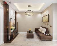 Thiết kế nội thất phòng khách biệt thự Ecopark anh Ngọc - Nội thất Jhome