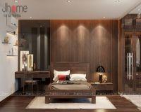 Thiết kế nội thất phòng ngủ master biệt thự Ecopark anh Ngọc - Nội thất Jhome