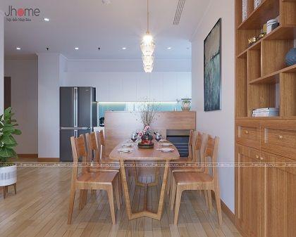 Thiết kế nội thất căn hộ tòa A3 chung cư Vinhomes Gardenia - Nội thất Jhome