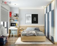 Thiết kế nội thất phòng ngủ con căn penthouse phố Hoàng Ngân - Nội thất Jhome
