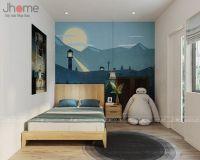 Thiết kế nội thất phòng ngủ nhà phố Hoàng Quốc Việt - Nội thất Jhome