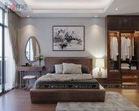 Thiết kế nội thất phòng ngủ chung cư Cầu Giấy - Nội thất jHome