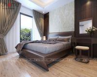 Thiết kế nội thất phòng ngủ master chung cư An Bình City - Nội thất Jhome