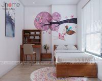 Thiết kế nội thất phòng ngủ con chung cư An Bình City - Nội thất Jhome