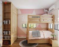 Thiết kế nội thất phòng ngủ bé chung cư ở Hoàng Văn Thái - Nội thất jhome