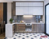 Thiết kế nội thất phòng bếp chung cư Việt Đức Complex - Nội thất jhome