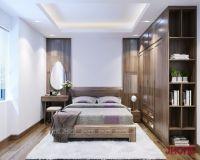 Thiết kế nội thất phòng ngủ master chung cư Việt Đức Complex - Nội thất jhome