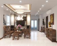 Thiết kế nội thất chung cư 60 Hoàng Quốc Việt - Nội thất Jhome