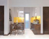 Thiết kế nội thất phòng bếp chung cư 60 Hoàng Quốc Việt - Nội thất Jhome