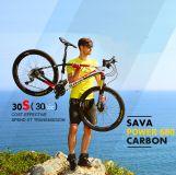 "SAVA CARBON  POWER680 Deore_30s Bánh 26"""