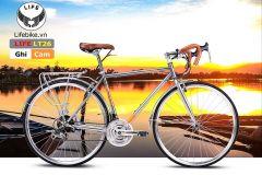 Xe đạp đua LT26 ghi/cam