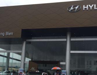 Showroom Hyundai Long Biên