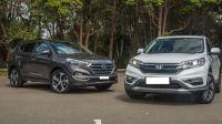 Hyundai Tucson và Honda CR-V: Nên chọn dòng xe Hàn hay Nhật?