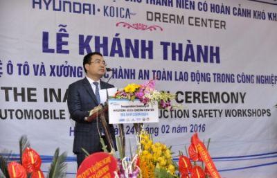 Hyundai mở trung tâm đào tạo nghề Hyundai - KOICA Dream Center ở Việt Nam
