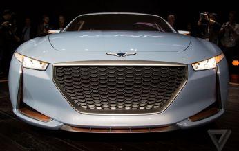 Genesis New York Concept - mẫu xe concept hoàn toàn mới được Hyundai giới thiệu tại New York Auto Show 2016