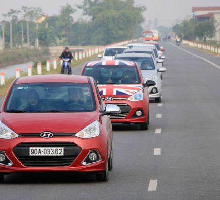 Câu lạc bộ Hyundai Grand i10 Việt Nam tổ chức sinh nhật lần thứ 2 tại Ninh Bình