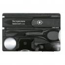 Bộ dao xếp đa năng SwissCard Lite màu đen, hiệu Victorinox