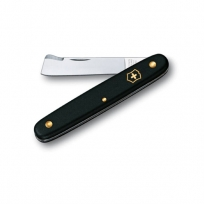 Victorinox Budding knife straight blade 56mm black blistered