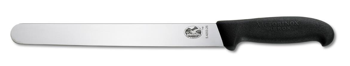 Dụng cụ làm bếp cắt lát hiệu Victorinox lưỡi dài 25cm màu đen, 5.4203.25