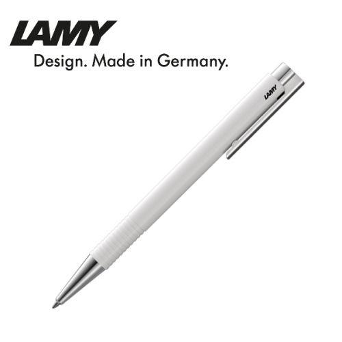 Bút bi cao cấp hiệu Lamy logo M+ màu trắng 204
