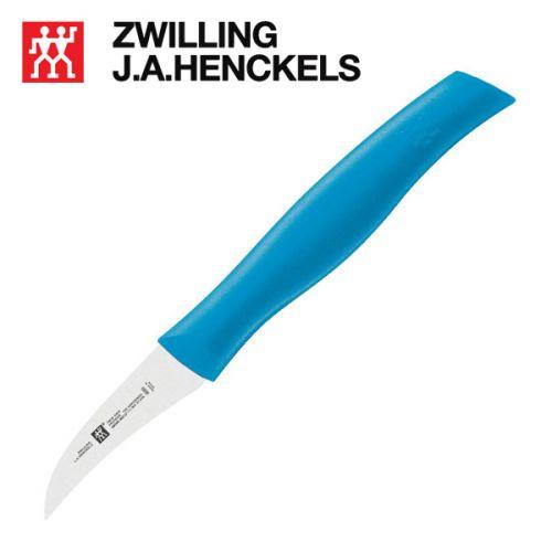 Dụng cụ tỉa rau quả Zwilling 38090-061 màu xanh dương, lưỡi dài 6cm