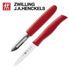 Bộ dao 2 sản phẩm Zwilling 38634-000 cán đỏ