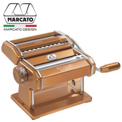 Máy làm mì Atlas 150 màu đồng thương hiệu Marcato AT-150-RAM