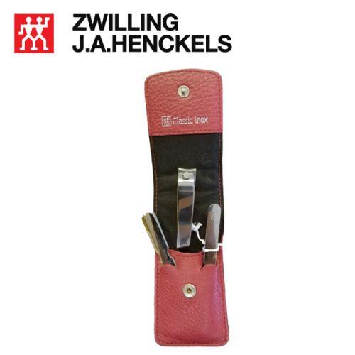 Bộ bấm móng tay màu đỏ thương hiệu Zwilling 97537-000-A