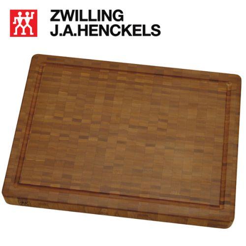 Thớt gỗ tre loại lớn có kích thước (42x31x4 cm) hiệu Zwilling 30772-400