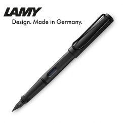 Lamy - Bút máy cao cấp safari màu đen ngòi EF, phiên bản 2018