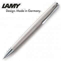 Lamy - Bút bi cao cấp Studio steel brushed 265, màu bạc