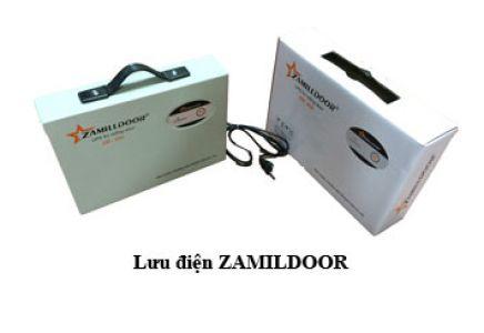 Lưu điện cửa cuốn Zamilldoor