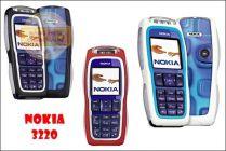 Điện thoại Nokia 3220 chính hãng tồn kho - Led sống động