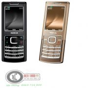 Nokia 6500 classic và Nokia 6500 slide kiểu trượt chính hãng
