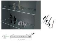 Kẹp kính đèn LED chưa có cảm biến dài 563mm NE2100.563A1.80