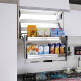 Giá kéo để đa năng di động 2 tầng, inox 304 lắp tủ bếp trên với khoang 800mm