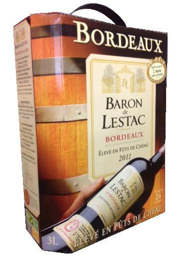 Rượu bình  BL Baron De Lestac Bordeaux 3L