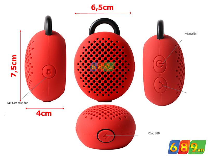 Loa Bluetooth Divoom Bluetune-Bean Thiết Kế Độc Đáo