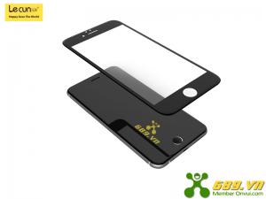 Kính Cường Lực Full Viền iPhone 8 Plus Thương Hiệu Lecun